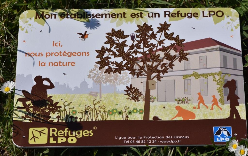 Panneau refuge LPO